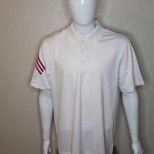 Adidas climacool coolmax golf shirt